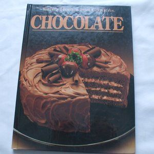 Better Homes and Gardens Chocolate cookbook hardco